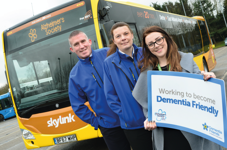 Working towards being dementia-friendly to help thousands of our customers who are affected by the condition.
