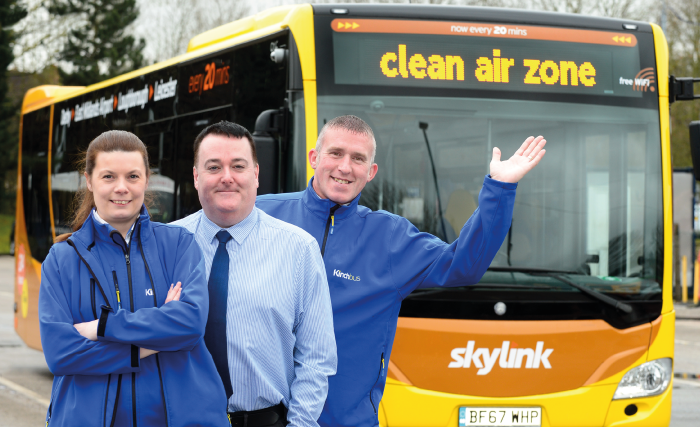 Three new buses will make our skylink fleet the cleanest it has ever been.