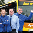 Kinchbus invests in a cleaner link to the sky