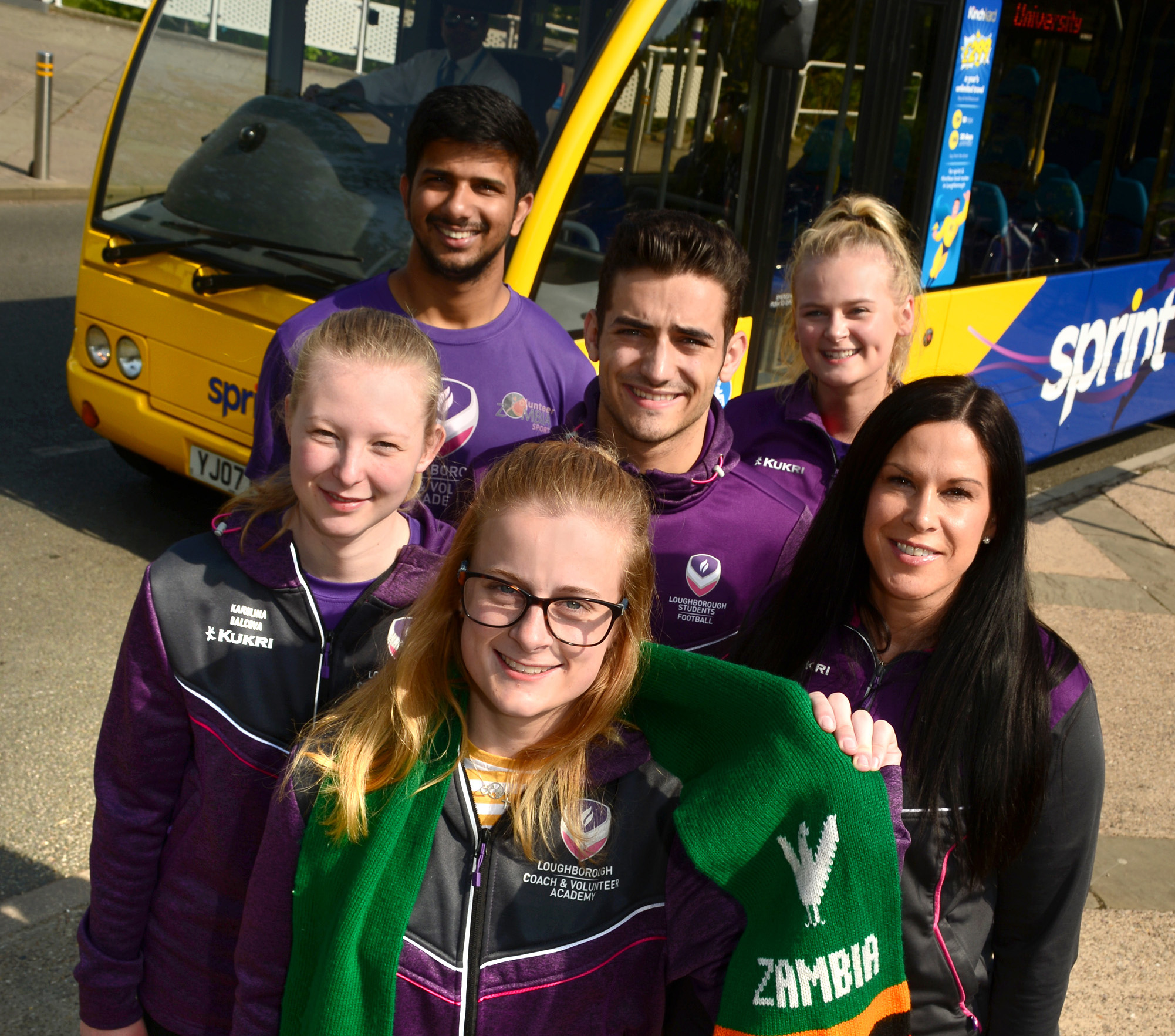 Kinchbus sprints to support Zambia students
