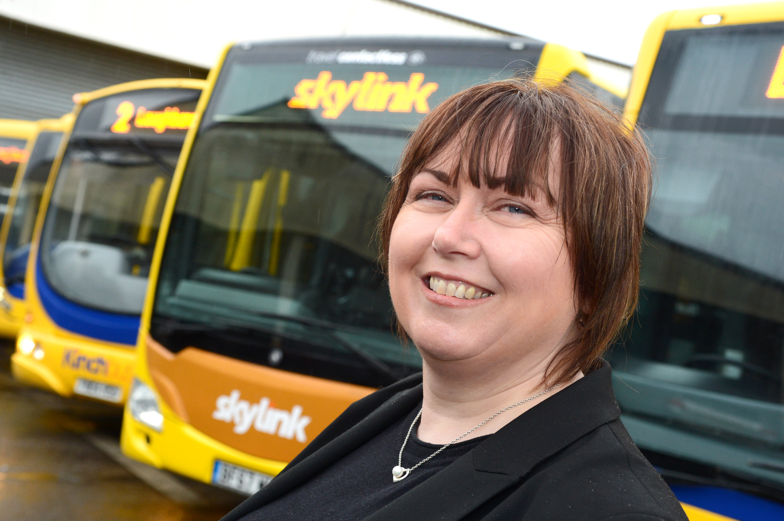 Sue's the new driving force at Kinchbus