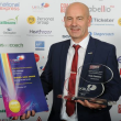 Unsung hero Chris strikes Gold at UK Bus Awards
