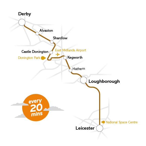 derby journey planner